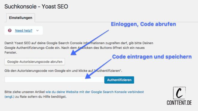 Wie du die Suchkonsole mit Yoast SEO verknüpfst