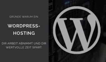 Gruende fuer Wordpress-Hosting